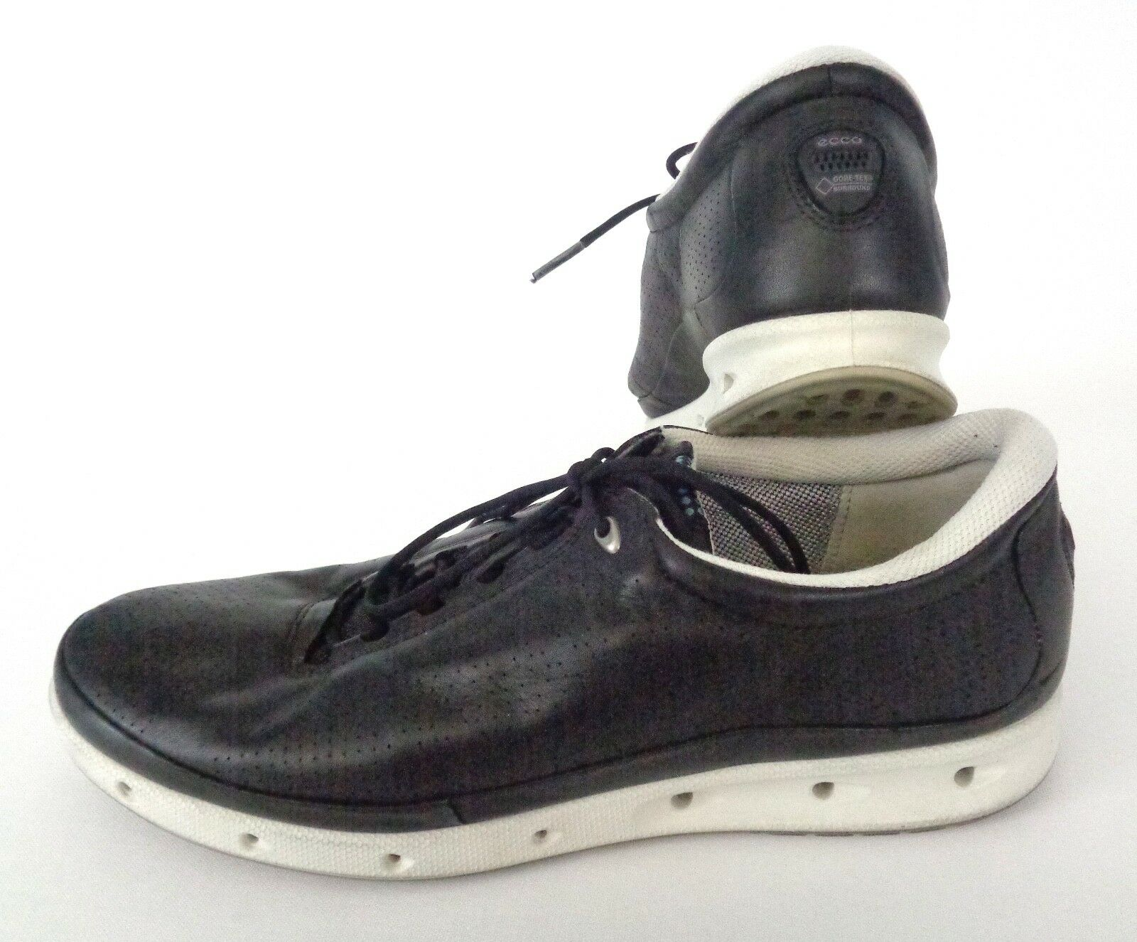 ECCO COOL GTX Casual Sz 42 10-10.5 US Casual GTX Athletic Walking Shoes Black Yak Leather 0cacf4