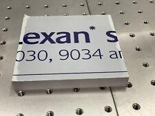 Lexan Polycarbonate Sheet Clear 12 X 415 X 42
