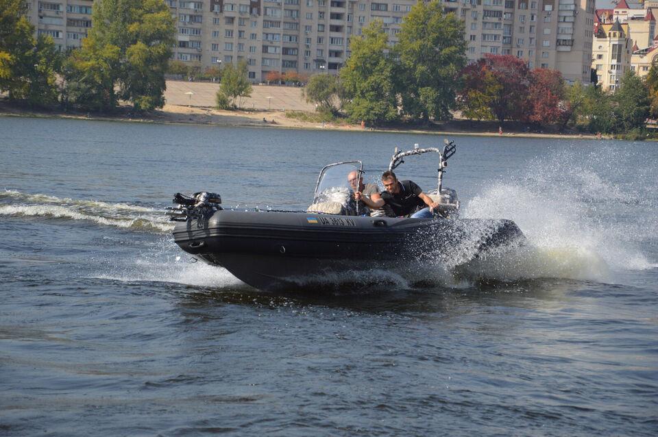 Adventure Rib, V-550, med Yamaha 70 HK påhængsm...