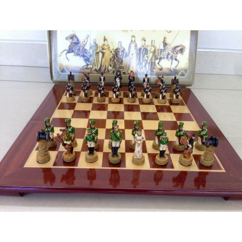 Chess pieces of Napoleon against the Russians BoroDINO (32 ), without a board