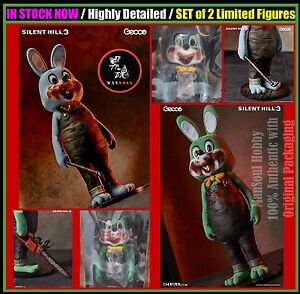 Image is loading IN-STOCK-Gecco-Silent-Hill-3-Robbie-The-  sc 1 st  eBay & IN STOCK Gecco Silent Hill 3 Robbie The Rabbit Limited SET Blue ...