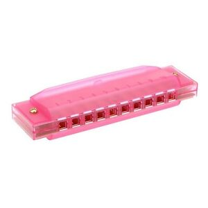 Harmonica Diatonique Do - 10 Trous - Rose 6 ans et plus