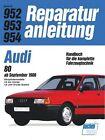 Audi 80 ab 09/86 (2012, Kunststoffeinband)