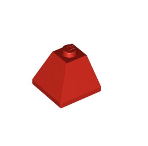 Lego 12 Red Slope 45° 2x2 Double Convex Castle,Kingdoms Corner Roof Parts 3045