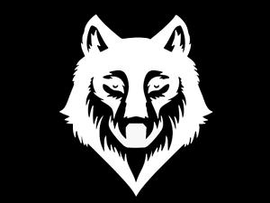 WOLF HOWLING Vinyl Decal Car Wall Truck Sticker CHOOSE SIZE COLOR