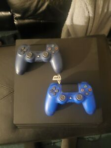 Sony PlayStation 4 Pro 1TB Console W/ 2 Controllers, and Cables, Works Perfect!!