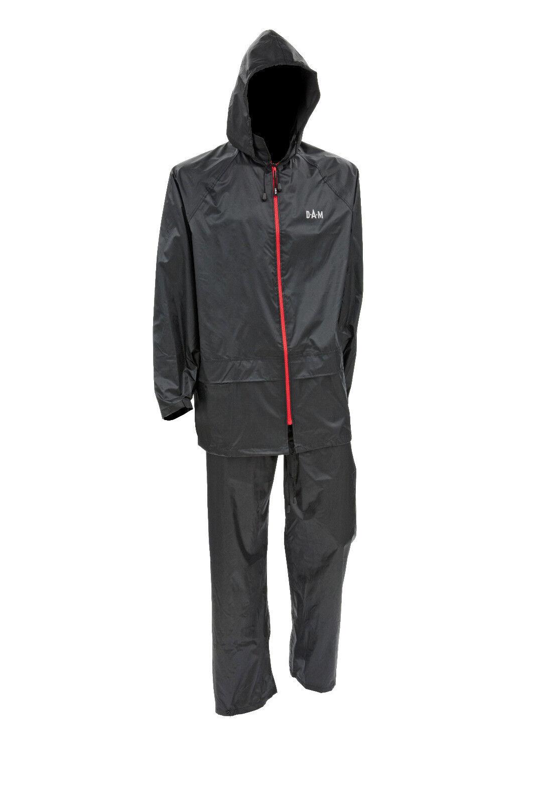 DAM Predec-Rainsuit Leichter 2 teiliger Regenanzug wasserdicht versch. Größen