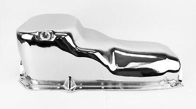 307//350//403//400//425//455 Oldsmobile Chrome Fuel Pump Block Off Plate w//Gasket