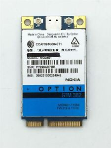 OPTION GTM382 DRIVER FOR WINDOWS 7