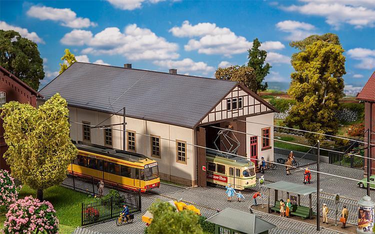 Faller 120289, Straßenbahn-Depot Naumburg, neu, OVP    | Hohe Qualität Und Geringen Overhead  715f64