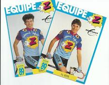Cyclisme, ciclismo, wielrennen, radsport, cycling, EQUIPE Z-PEUGEOT 1989