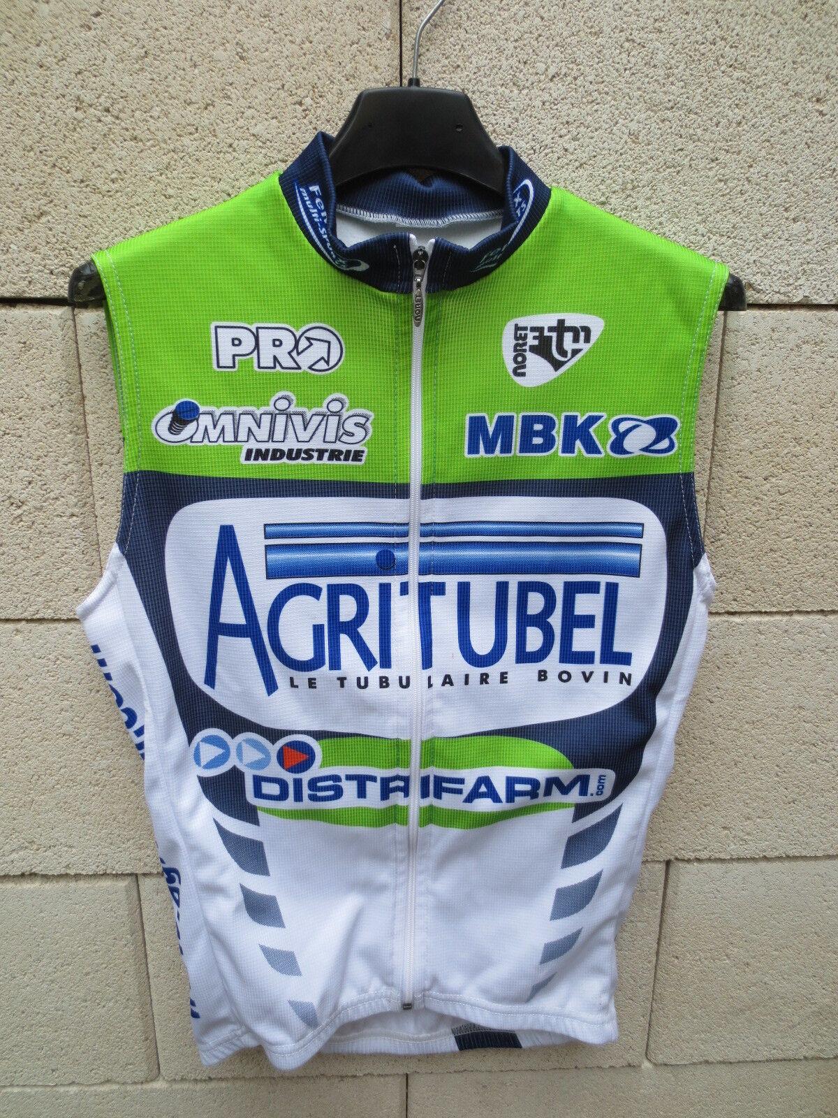 Maillot Veste cycliste sans manche AGRITUBEL MBK Noret camiseta jersey trikot 0