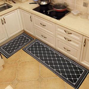 Non-Slip Home Kitchen Floor Mat Machine Washable Rug Door Runner ...
