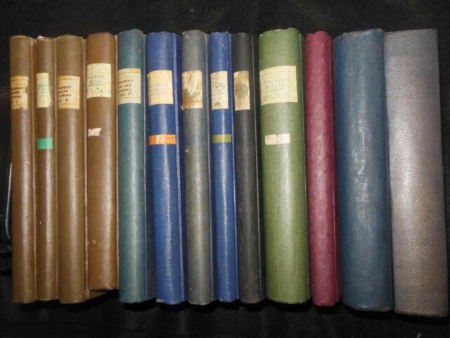Die Malayan Art Journal (1940-1962) 16 Volume Set, Singapur Malaya Straits