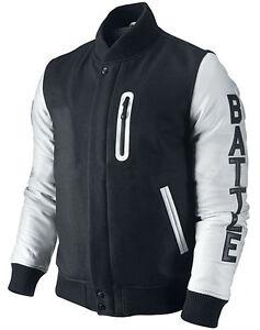 Veste jordan noir et blanche