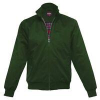 Merc London Vintage Harrington Retro Jacket Forest Green S, M, L, XL, XXL, XXXL