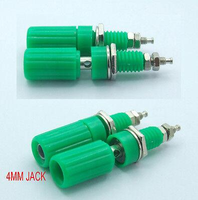 20PCS Green Binding Post for 4mm Banana plug Cables Power Amplifier Test Speaker