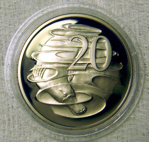 AUSTRALIA 1995 20 CENTS PLATYPUS PROOF GREAT PRICE
