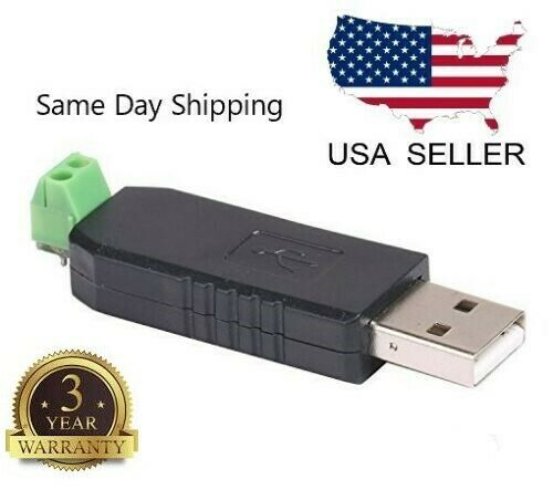 CH340 USB to RS485 485 Converter Adapter Module For Win7//Linux//XP//Vista N165