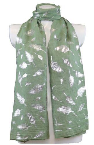 Femme Echarpes paillettes plumes imprimé viscose Châles