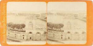 Italia-Milan-Anfiteatro-Foto-Brogi-Stereo-Vintage-Albumina-PL62L4