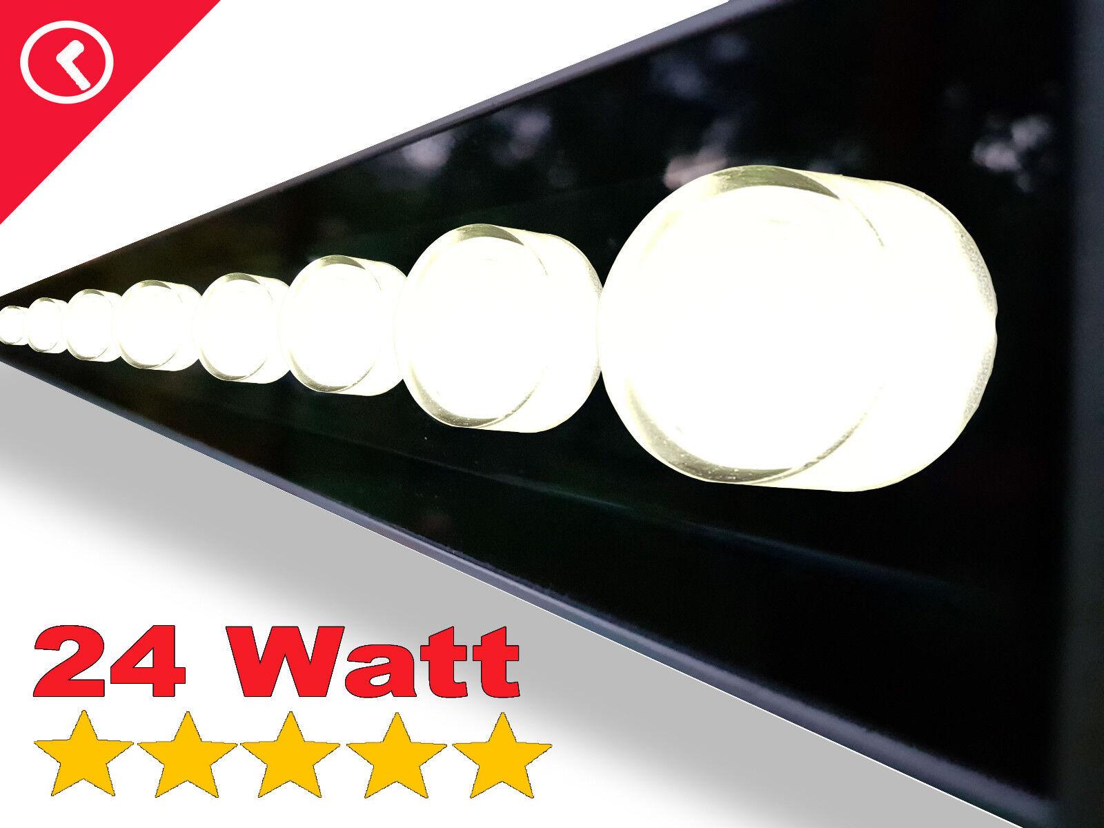 2x Led Strahler   Fassadenstrahler 230V- 24 Watt  3500K  warmweiß   | Lebendige Form  | Mode-Muster  | Elegant Und Würdevoll