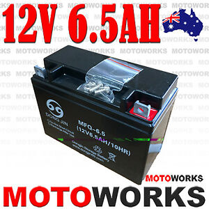 12V-6-5AH-Battery-50cc-70cc-90cc-110CC-125CC-ATV-QUAD-Bike-Gokart-Buggy-Dirt