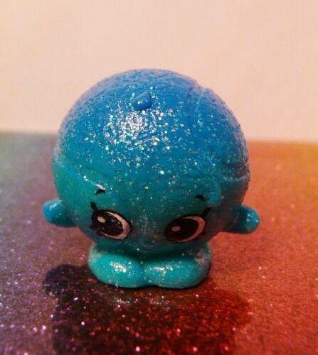 Shopkins Season 4 #75 DENNIS BALL Blue Ultra Rare Shimmy Mint OOP Free