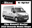 Rear Roller System for Renault Master 2010-2019 Rhino Delta Roof 2-3-4 Bars Rack