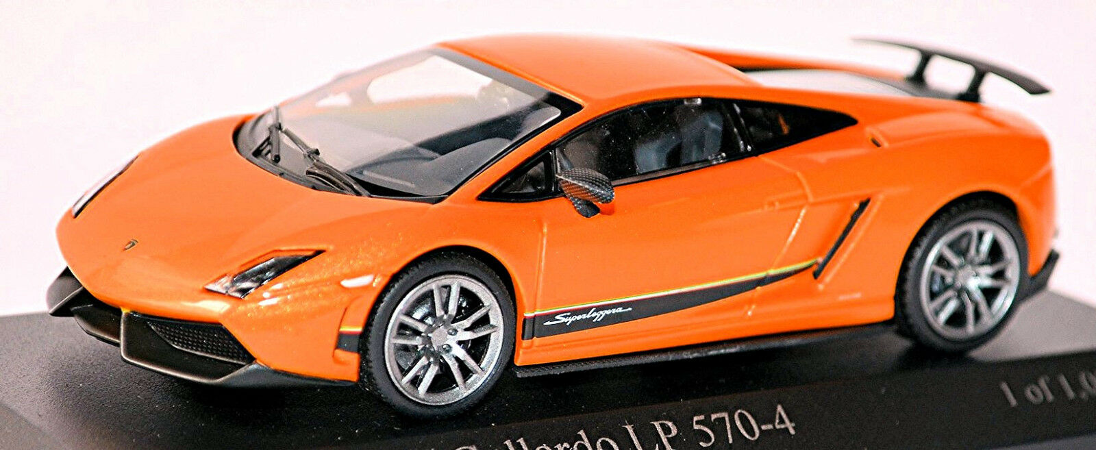 Lamborghini Gallardo LP 570-4 Superleggera 2012-14 orange Métallique 1 43