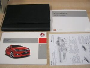 vauxhall astra owners manual handbook 2004 2010 inc radio audio rh ebay ie vauxhall astra owners manual 2007 pdf vauxhall astra owners manual 2011