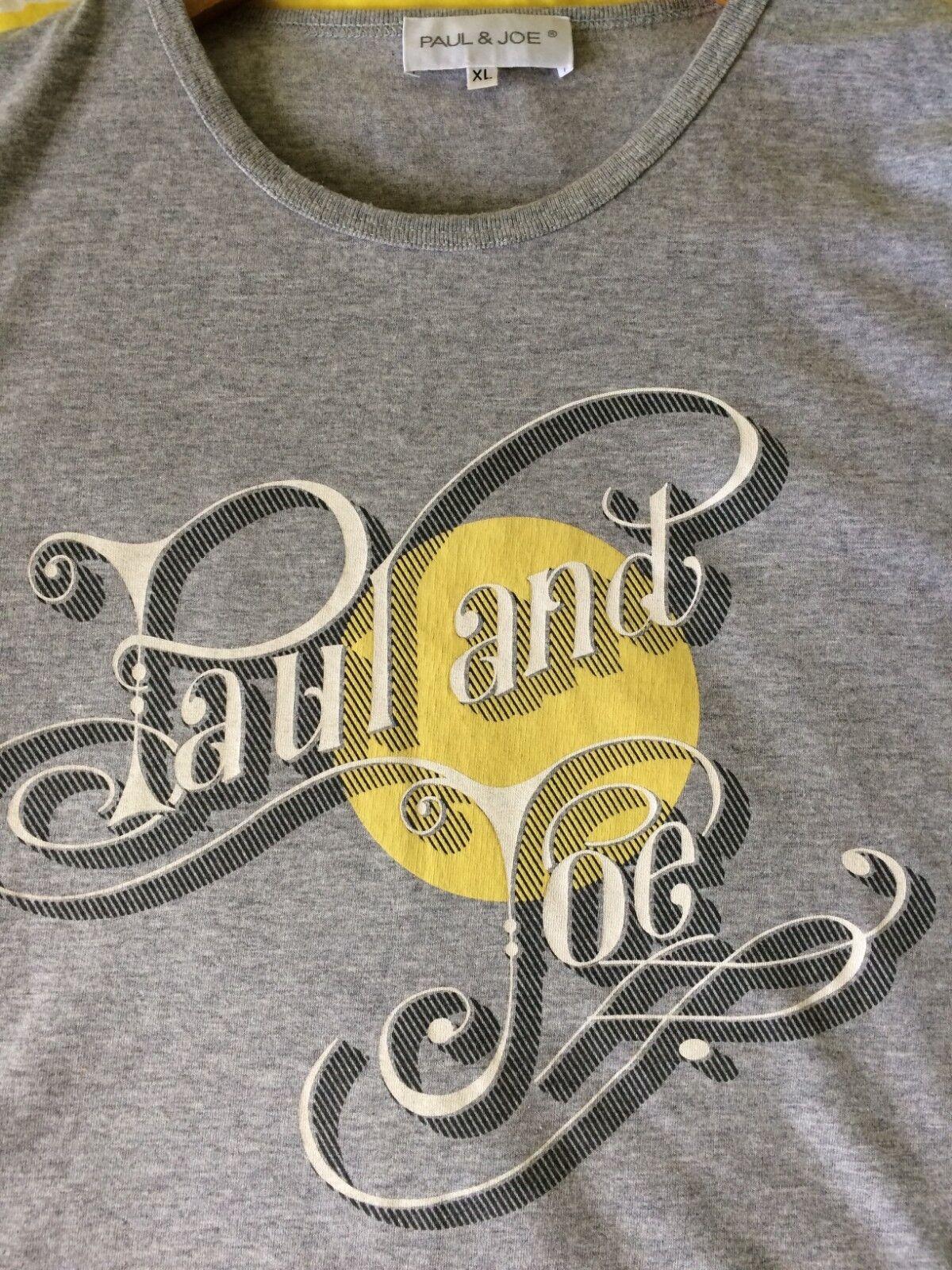 a1ad5c67ac5f Da Uomo Paul   Joe Joe Joe Logo Grigio T-Shirt. UK L-XL 0b481b ...