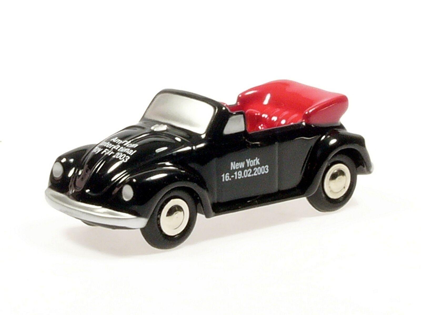 Schuco Piccolo VW Käfer Cabrio New York toy fair 2003