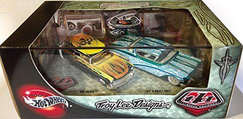 Hot Wheels Troy Lee Designs Go-Mad & 57 Cadillac 1 64 Scale Set
