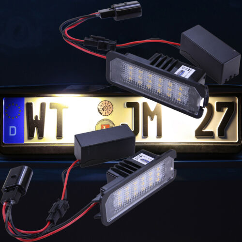 NUOVO 3200k warmweiss luminosi LED SMD Illuminazione Targa TARGA 7401ww