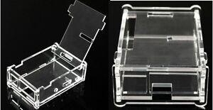 Contenitore-Trasparente-x-Raspberry-Pi-B-Pi-2-Pi-3-Scatola-Acrylic-Case-box