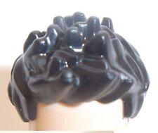 LEGO MASCHIO capelli corti PUNTE X 1 Nero per minifigura