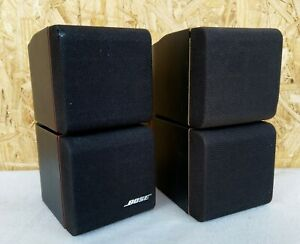2x-Bose-Doppelcube-Acoustimass-Lautsprecher-Satelliten-Cube-Lifestyle-Redline