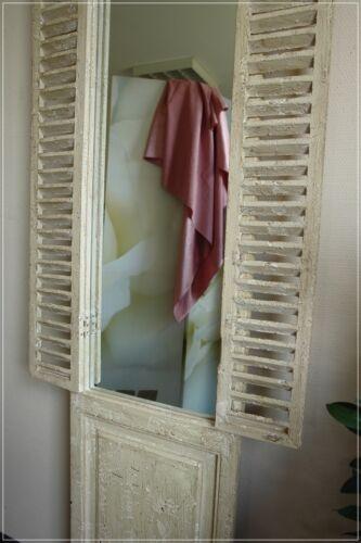 Wandspiegel Fensterladen Shabby Fenster Standspiegel Impressionen miaVilla NEU
