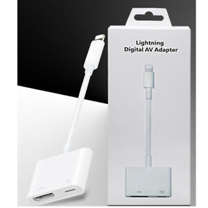 GüNstig Einkaufen Lightning To Hdmi Digital Av Tv Adapter Cable For Apple Iphone 6 7 8 Plus X Ipad Computer, Tablets & Netzwerk Audiokabel & -adapter