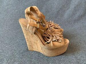 Carvela-Scarpe-donna-Scarpe-Stivali-Taglia-3-EU-36-Brown-Hells