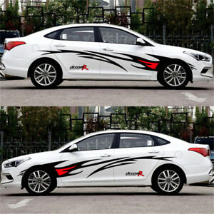c159b27394e94a Image is loading Car-styling-Flame-Graphics-design-automobile-accessories- Car-