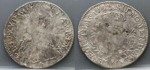 Frankrijk-France-Ecu-LOUIS-XV-1732-K-Bordeaux-KM-486-11-rare