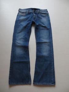 Diesel-ZATHAN-wash-008BE-Bootcut-Jeans-Hose-W-32-L-32-Vintage-Denim-KULT