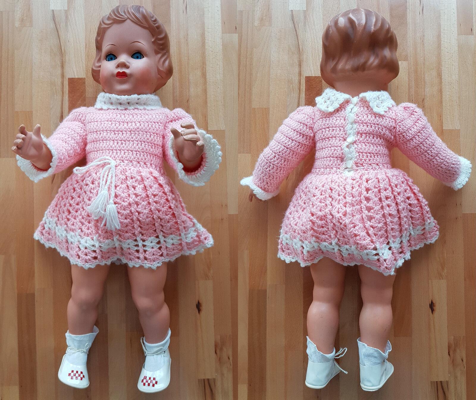 75 cm Puppe Püppchen Figur Doll Sammlung Sammler Kollektion Audio Geräusche