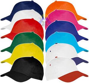 CAPPELLO-Cappellino-BASEBALL-con-VISIERA-Precurvata-GOLF-Berretto-UOMO-Donna-CAP