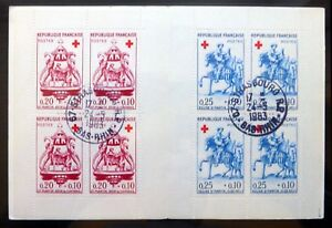 FRANCE-1960-Red-Cross-Booklet-Fine-Used-NF661