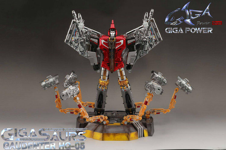 Transformers Toy Grand Prix HQ-05R alliage placage  Gaudenter G1 Swoop Rouge Chorme avec DEL  magasin d'offre
