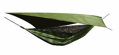 New Nomad Jungle Hammock  Tarp Set includes Mosquito Net Bushcraft Military