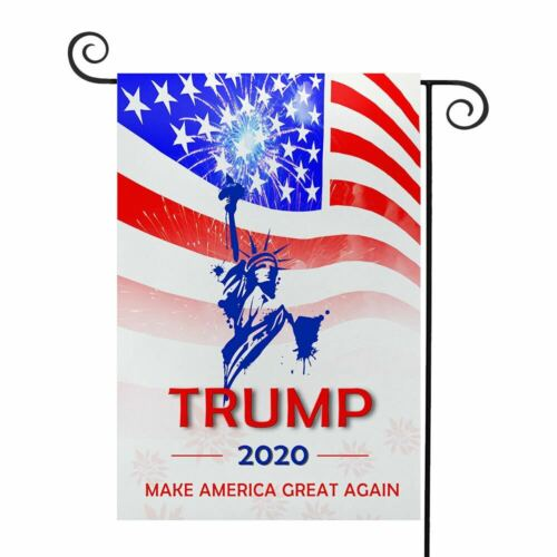 Details about  /12x18 inch Donald Trump 2020 Garden Flag Keep Make America Great Again President